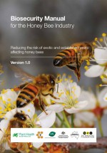 Cover of Biosecurity Manual for honeybees